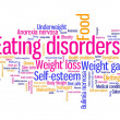 Stock Photo: Eating disorders
