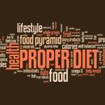 Proper diet — Stock Photo