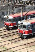Trains in Poland — Stock Photo