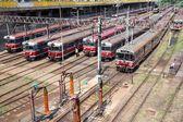Railway in Poland — Stock Photo