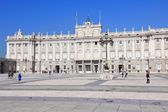 Madrid palace — Stockfoto