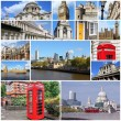 London collage — Stock Photo #41133779