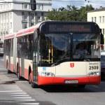 Постер, плакат: Solaris city bus