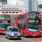 London transportation — Stock Photo