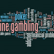 Stock Photo: Internet gambling