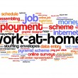 Work at home — Stock Photo #41640037