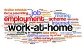 Work at home — Stock Photo