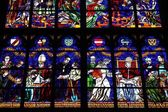 Vienna stained glass — Stock Photo