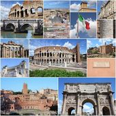 Rome collage — Stock Photo