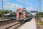Metra Train — Stock Photo
