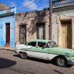 Old car in Cuba — Stock Photo