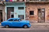 Havana old car — Stock Photo