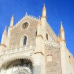 Madrid church — Stock Photo