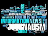 Journalism — Stock Photo