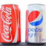 Постер, плакат: Coca cola vs Pepsi