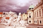 Belvedere, Vienna — Stock Photo