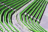Audience seats — Stock Photo
