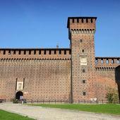 Milan Castle — Стоковое фото