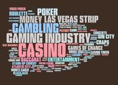 Gokken in casino — Stockfoto