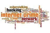 Internet crime — Stock Photo