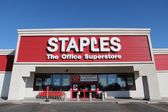 Staples store — Stock Photo