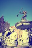 Gdansk retro — Stock Photo