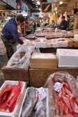 Tsukiji-fischmarkt — Stockfoto
