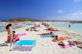 Cyprus beach — Stock Photo