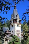 Romania - Peles Castle — Stock Photo