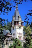 Romania - Peles Castle — Stock Photo
