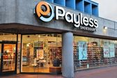 Footwear store - Payless — Stock Photo