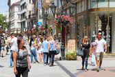 Vaci Street, Budapest — Stock Photo