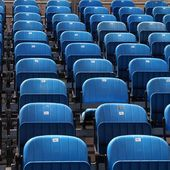 Stadium seats — Stock Photo