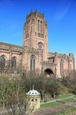 Cathedral in Liverpool — Stock Photo