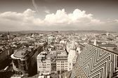 Vienna cityscape — Stock Photo