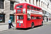 Old doubledecker — Stock Photo