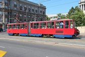 Belgrade streetcar — Stock Photo