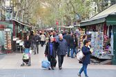 Ramblas, Barcelona — Stock Photo