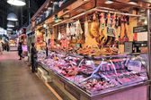 Barcelona market — Stock Photo