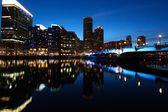 Boston night — Stock Photo