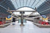 St Pancras railway station — Stock Photo