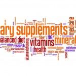 Diet supplements — Stock Photo
