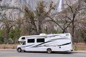 RV in Yosemite National Park — Stock Photo