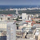 华沙波兰 — 图库照片