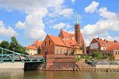 Wroclaw, polonia — Stok fotoğraf