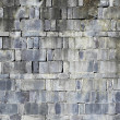 Rough old brick background — Stok fotoğraf