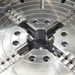 Stock Photo: Powerful industrial equipment rotary table close-up