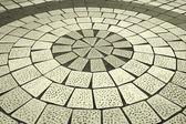 Runde kombination von hintergrund-boden — Stockfoto