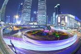 Puente de carretera de shanghai en la noche — Foto de Stock