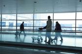 Passeggeri nell'aeroporto — Foto Stock